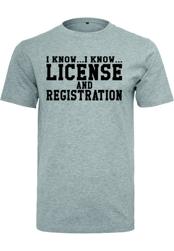License Shirt Jungs