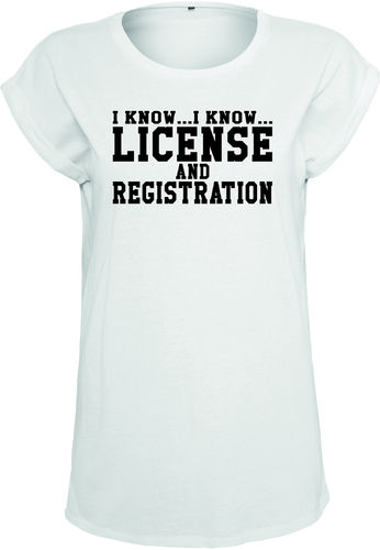 License Shirt Mädels